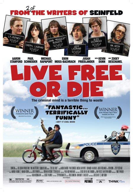 affiche du film Live Free or Die