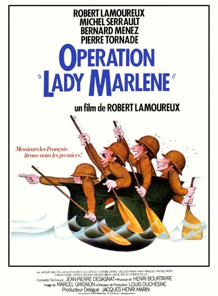 affiche du film Opération Lady Marlène