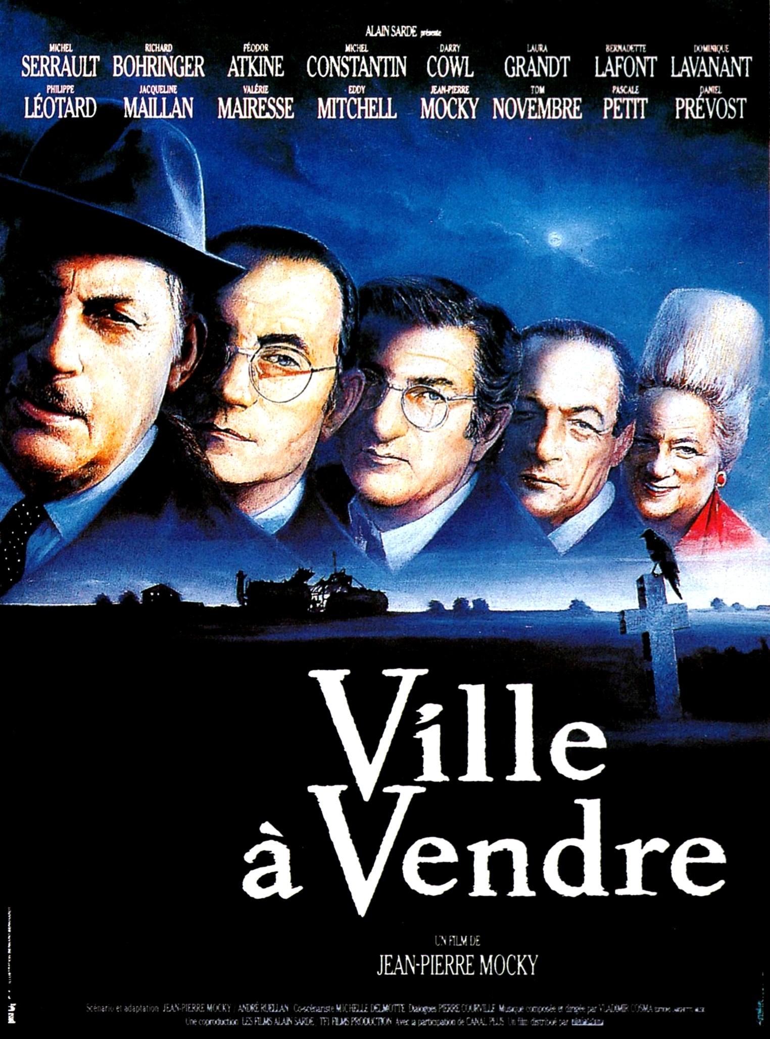 affiche du film Ville à vendre