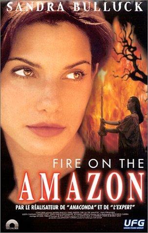 affiche du film Fire on the Amazon