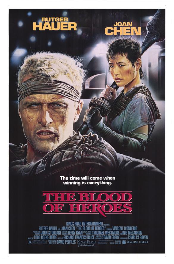affiche du film Le Sang des héros