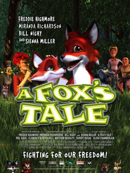 affiche du film Kis Vuk, a fox's tale