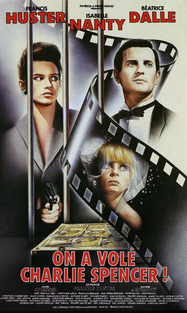 affiche du film On a volé Charlie Spencer !