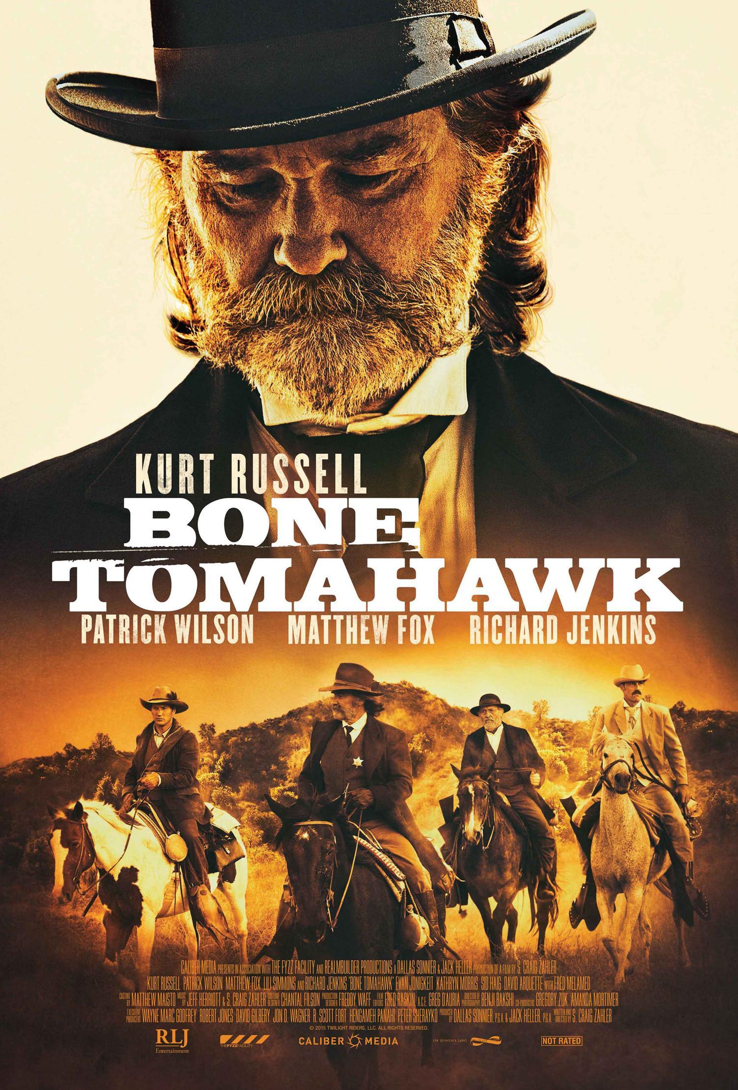 affiche du film Bone Tomahawk
