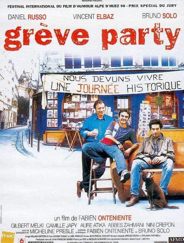 affiche du film Grève party