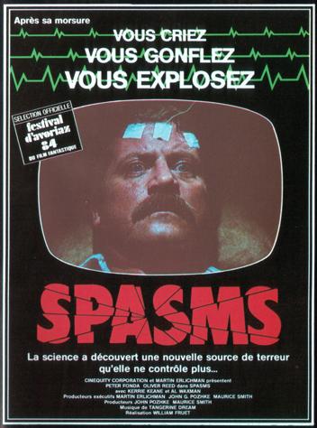 affiche du film Spasmes