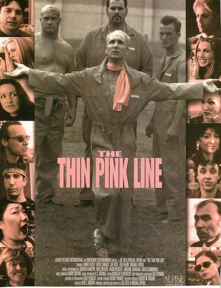 affiche du film The Thin Pink Line