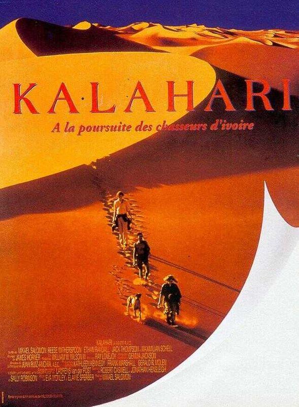 affiche du film Kalahari