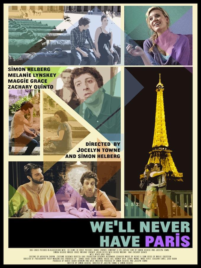 affiche du film We'll Never Have Paris