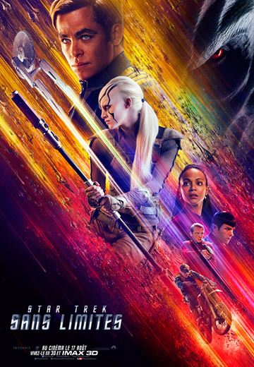affiche du film Star Trek : Sans Limites