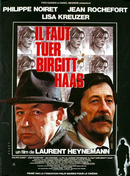 affiche du film Il faut tuer Birgitt Haas