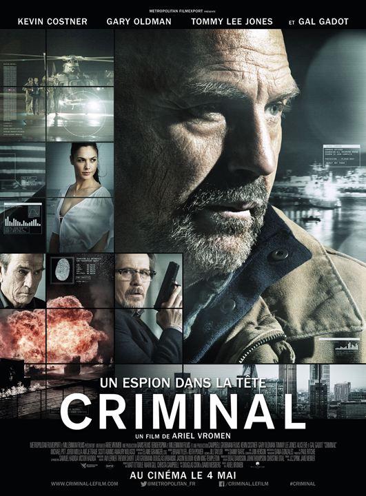 affiche du film Criminal : Un espion dans la tête