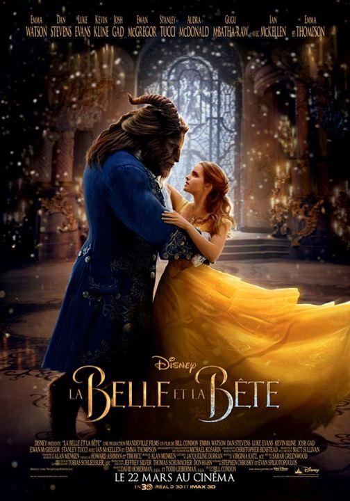 affiche du film La Belle et la Bête (2017)