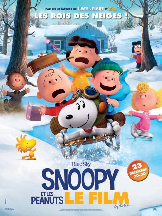 affiche du film Snoopy et les Peanuts, Le Film