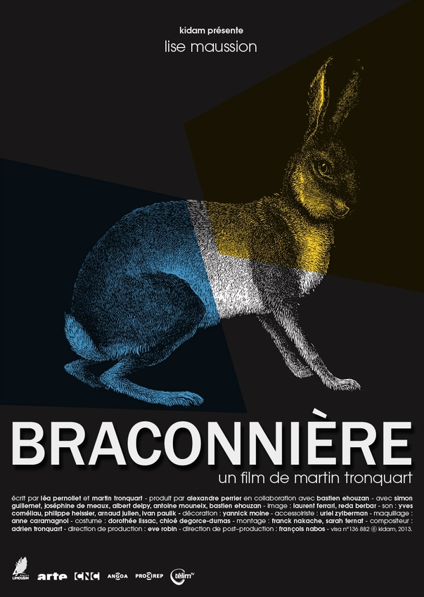 affiche du film Braconnière