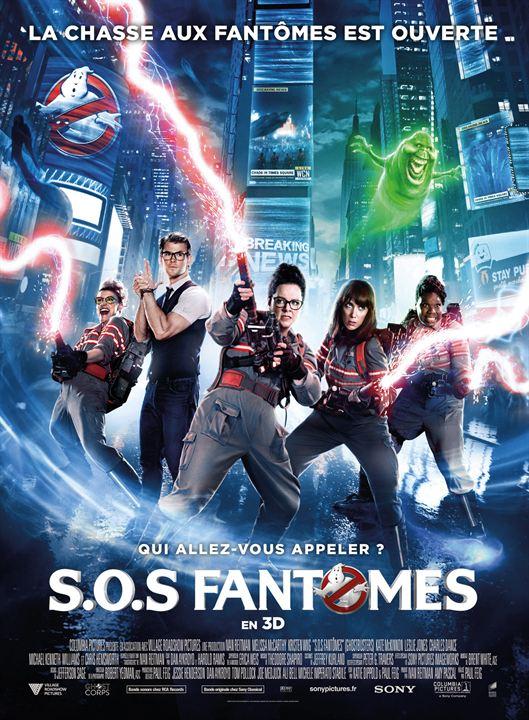 affiche du film S.O.S. Fantômes (2016)