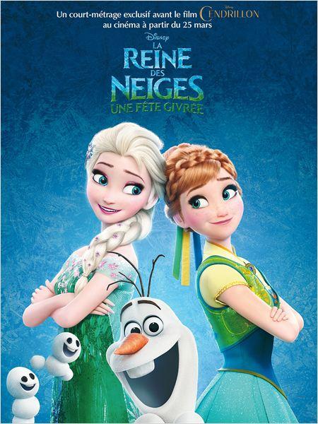 affiche du film La Reine des neiges : Une fête givrée