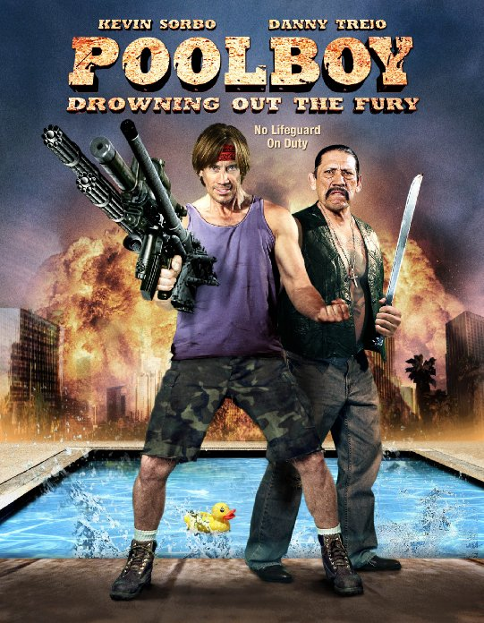 Poolboy: Drowning Out the Fury affiche