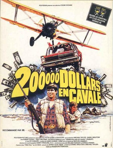 affiche du film 200 000 dollars en cavale