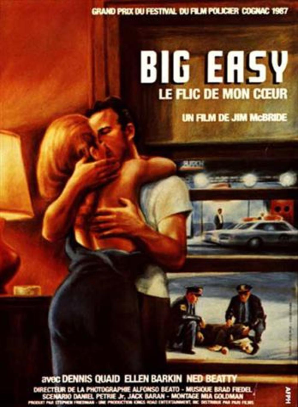 affiche du film Big Easy: Le flic de mon cœur
