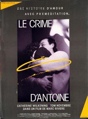 affiche du film Le Crime d'Antoine