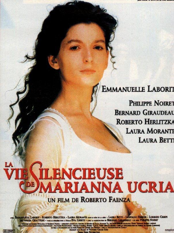 affiche du film La Vie silencieuse de Marianna Ucria