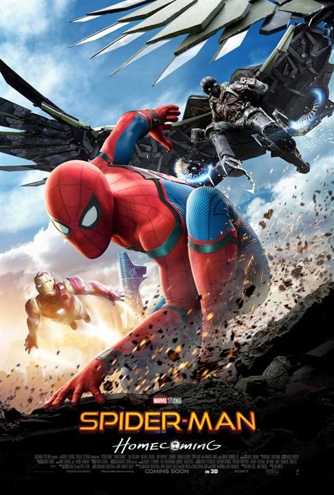affiche du film Spider-Man: Homecoming