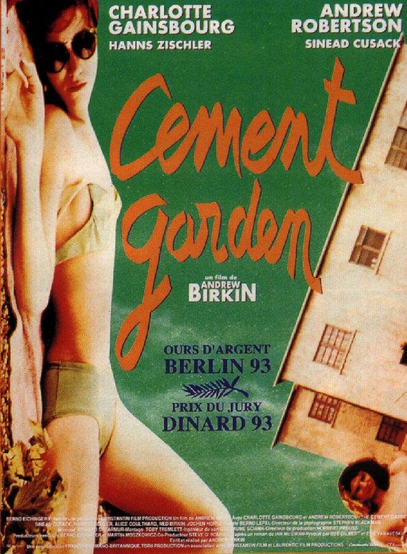 affiche du film Cement Garden