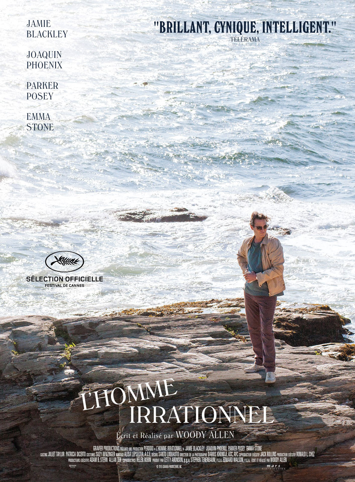 affiche du film L'homme irrationnel