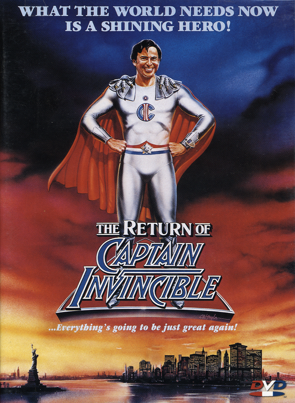 affiche du film The Return of Captain Invincible
