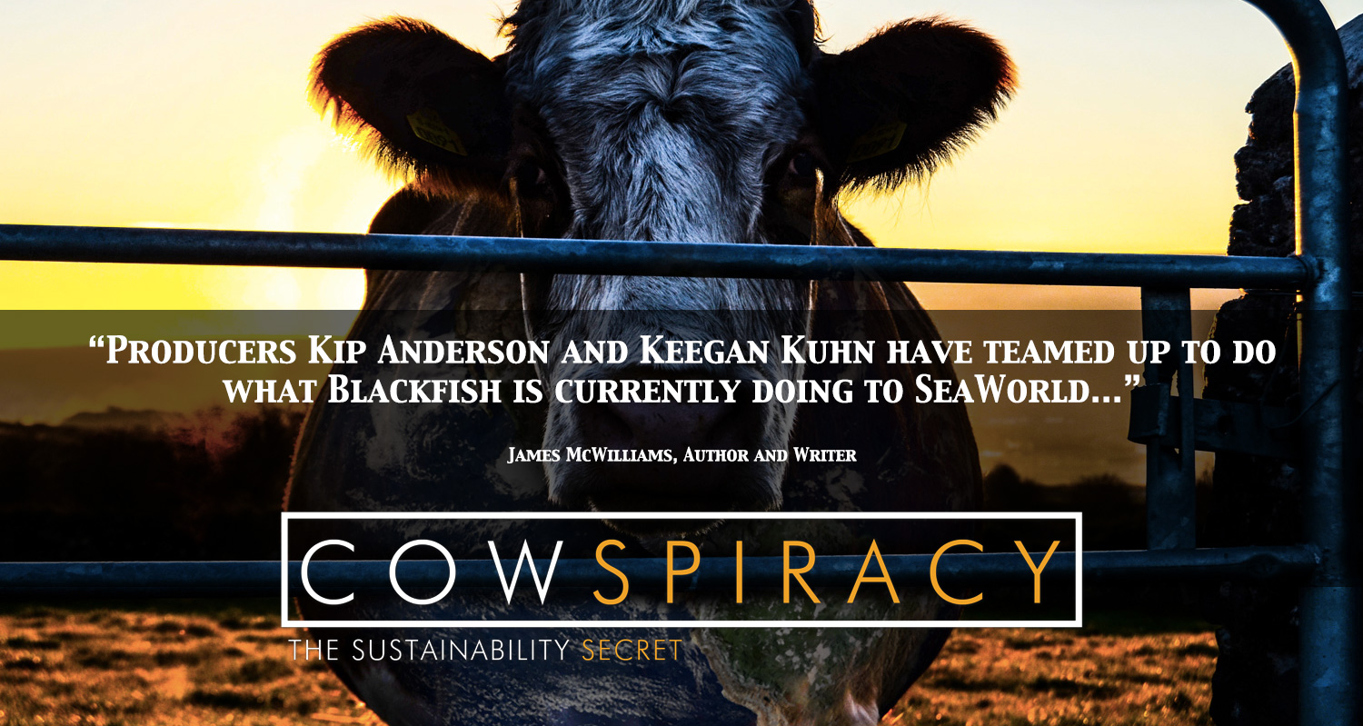 affiche du film Cowspiracy: The Sustainability Secret