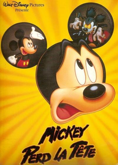 affiche du film Mickey perd la tête