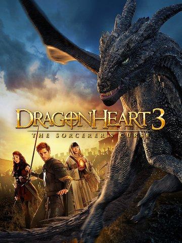 affiche du film Cœur de Dragon 3 : La malédiction du sorcier