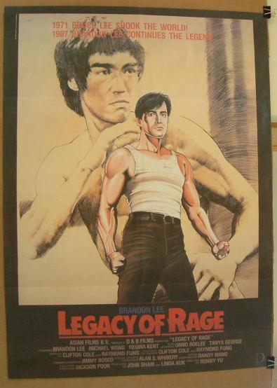 affiche du film Legacy Of Rage