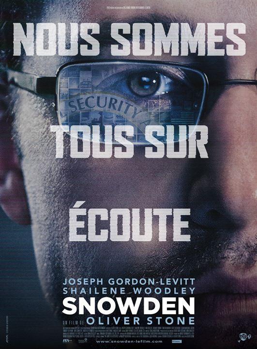 affiche du film Snowden