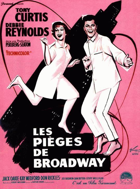 affiche du film Les Pièges de Broadway