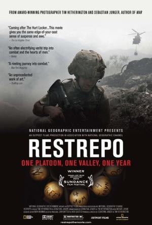 affiche du film Restrepo