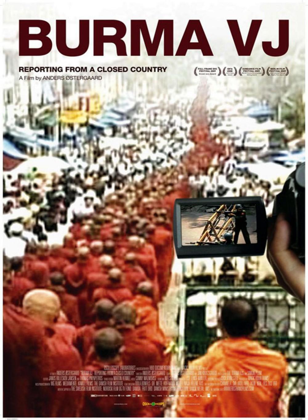 affiche du film Burma VJ, des nouvelles d'un pays clos