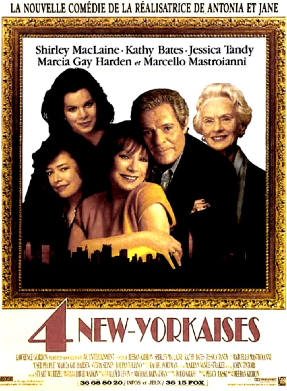 affiche du film 4 new-yorkaises