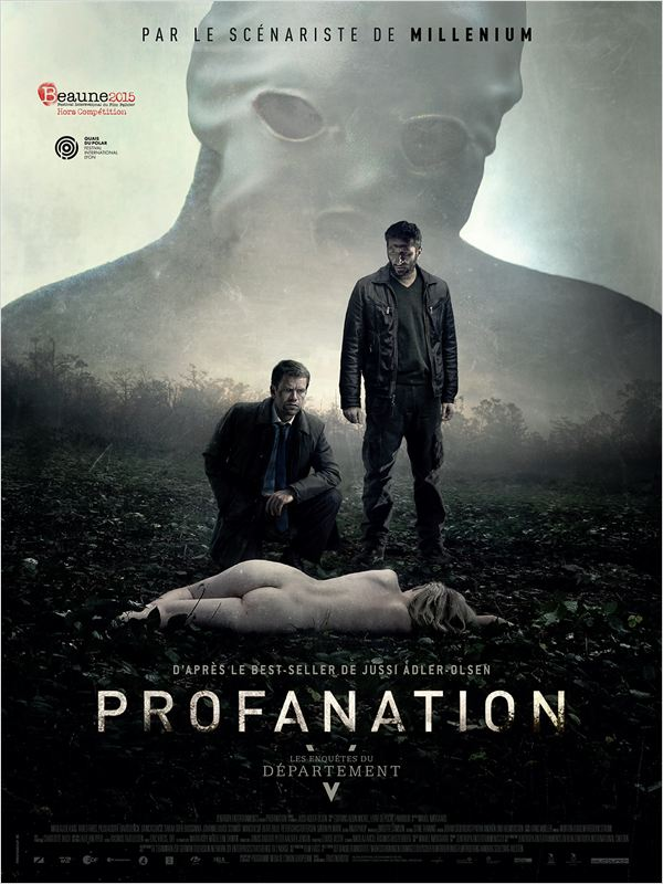 affiche du film Les Enquêtes du Département V : Profanation