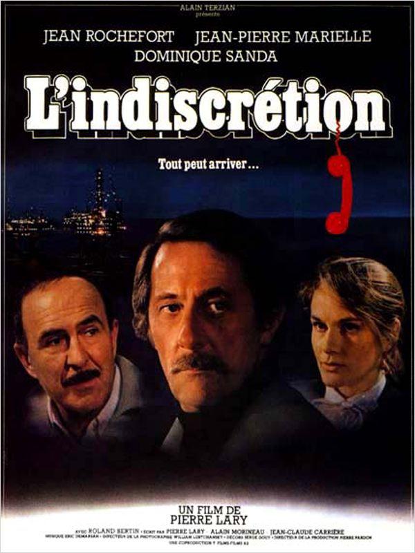 affiche du film L'Indiscrétion