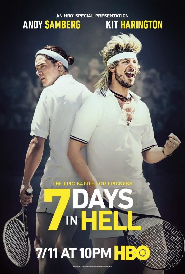 affiche du film 7 Days in Hell (TV)