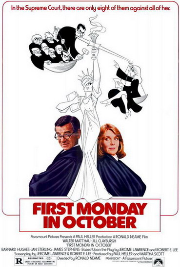 affiche du film First Monday in October
