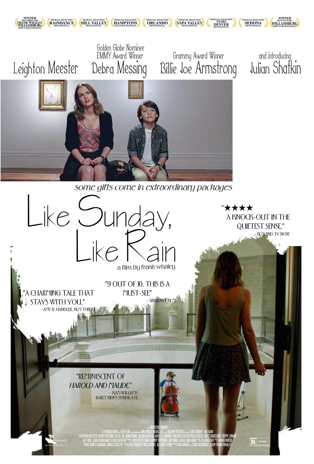 affiche du film Like Sunday, Like Rain