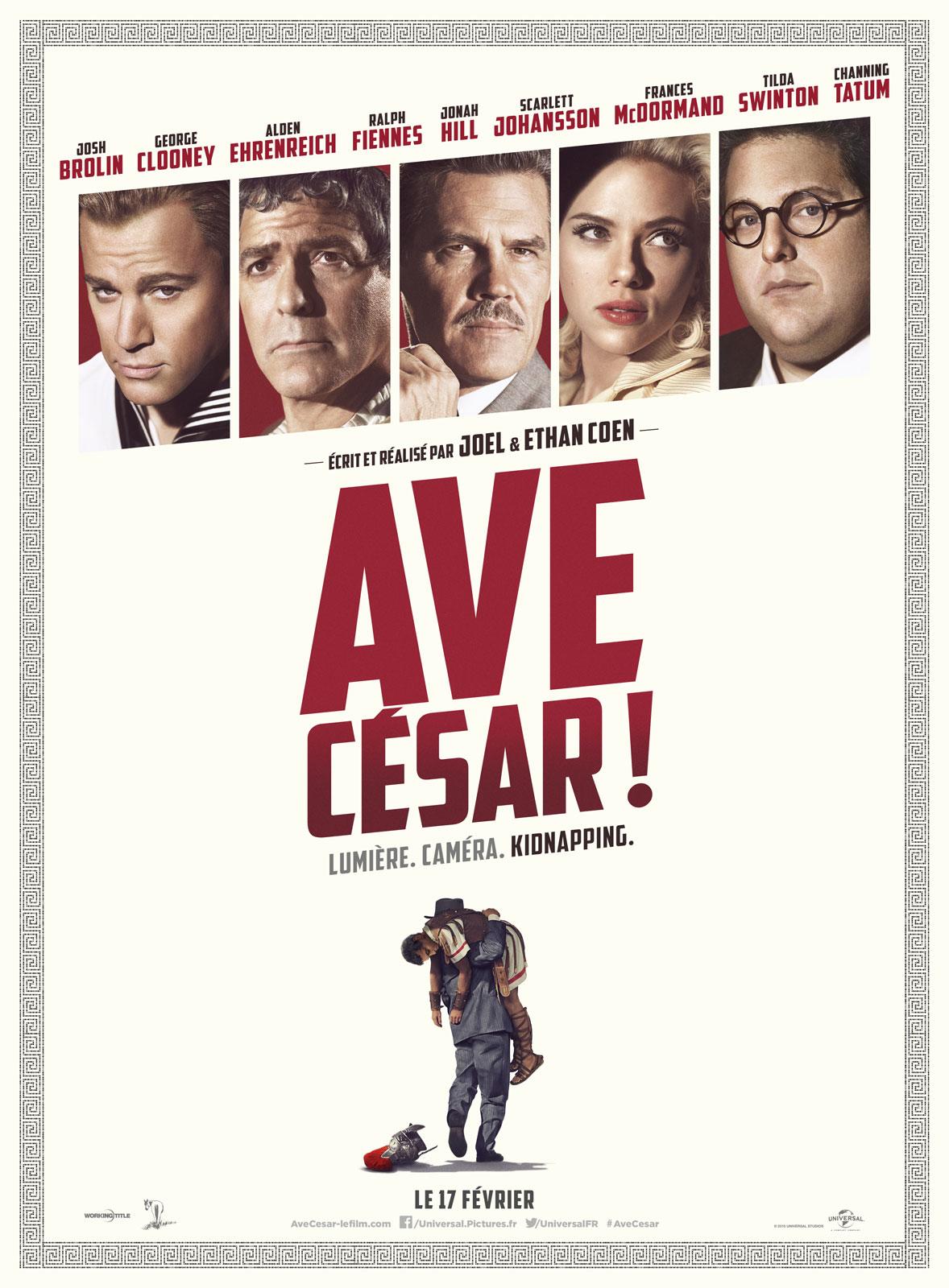 affiche du film Ave, César !