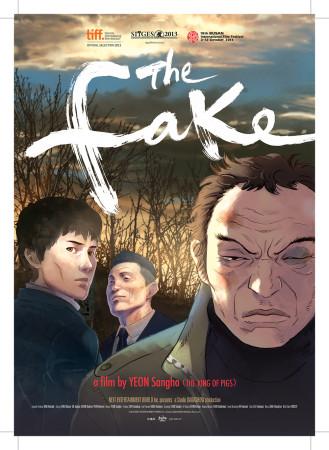 affiche du film The Fake