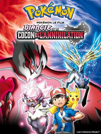 affiche du film Pokémon, le film : Diancie et le cocon de l'annihilation