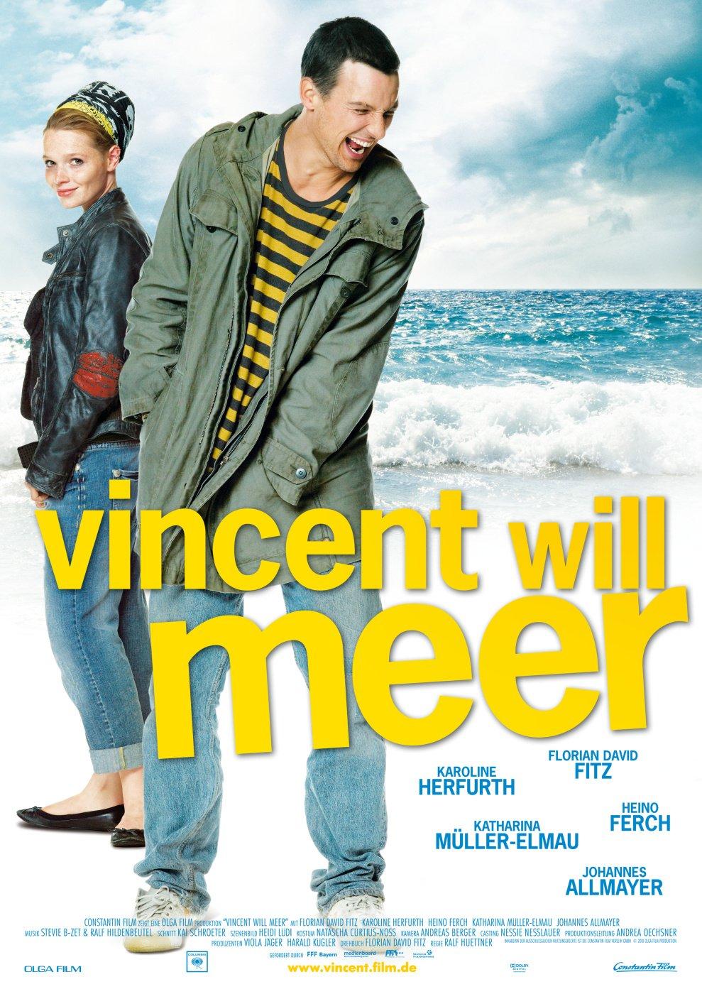 affiche du film Vincent, ses amis et sa mer