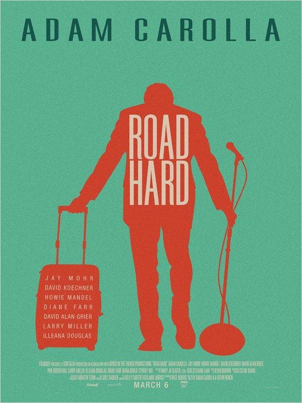 affiche du film Road Hard