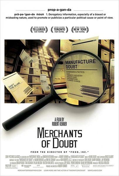 affiche du film Merchants of Doubt